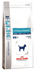 Сухой гипоаллергенный лечебный сухой корм для собак мелких пород Royal Canin Hypoallergenic Small Dog Dr 24