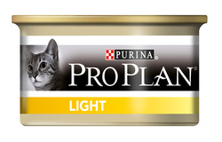 Pro Plan Light Консервы для кошек низкокаллорийный Индейка 85 гр