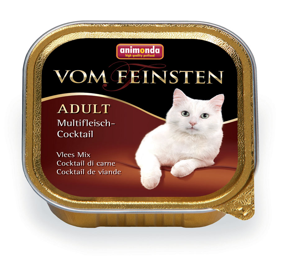 83204 vomfeinstenkatze adult multifleisch cocktail 100g 0