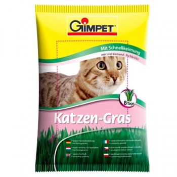Травка для кошек Gimpet Cat Grass In A Quick Sprout Bag 100 г