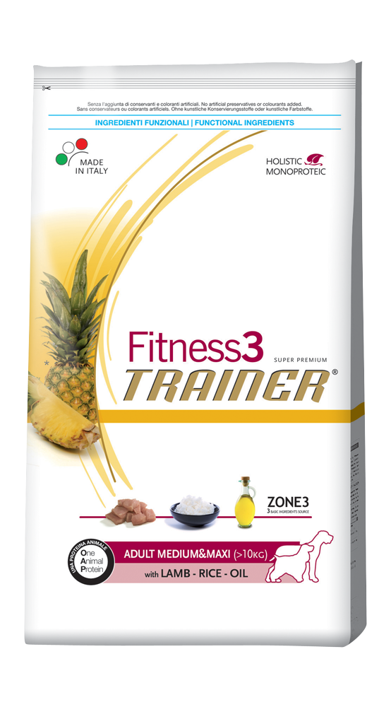 Fitness3 lamb rice maxi 0