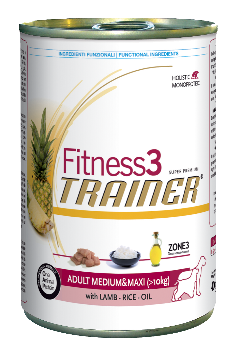 Fitness3 h lamb rice maxi
