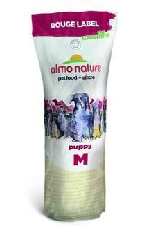 Сухой корм для щенков Almo Nature Rouge label The Alternative Medium Puppy and Chicken 100% Fresh с курицей 9,5 кг