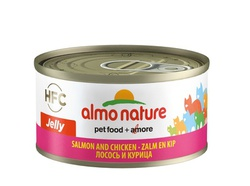 Консервы для кошек Almo Nature Legend Adult Cat Salmon and Chicken с лососем и курицей