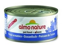 Almo Nature Консервы для кошек с океанической рыбой, 75% мяса, Legend Adult Cat Oceanic Fish 70 гр.