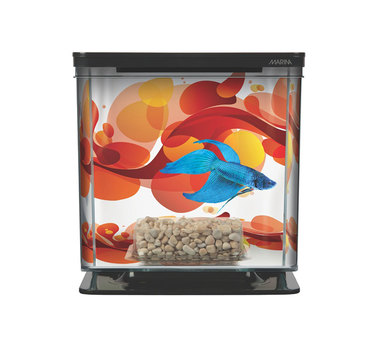 Аквариум для рыб Hagen Marina Betta Kit Sun Swirl 2 л