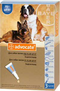 Bayer04 advocate dogs 25 40