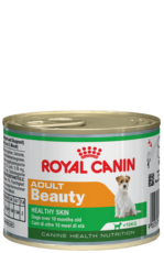 Влажный корм для собак с 10 месяцев до 8 лет, Royal Canin adult beauty 195 г