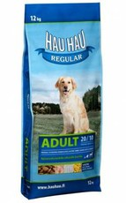 Сухой корм собак для всех пород Hau Hau Regular Adult dog