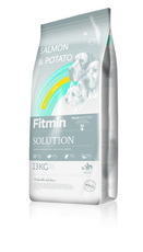 Сухой корм для собак всех видов пород Fitmin Solution Salmon & Potato (Grain free)