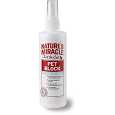 Спрей для кошек отпугивающий Nature`s Miracle Just for Cats Pet Block Repellent 236 мл