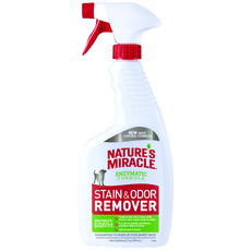 Универсальный спрей-уничтожитель пятен и запахов собак Nature's Miracle Dog Stain and Odor Remover , 709 мл