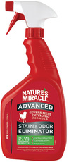 Уничтожитель запахов и пятен с усиленной формулой, для собак Nature's Miracle Dog Advanced Stain and Odor Eliminator, спрей 946 мл