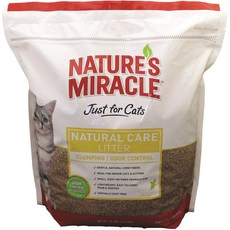 Наполнитель для кошачьего туалета Nature's Miracle Natural Care Cat Litter, комкующийся