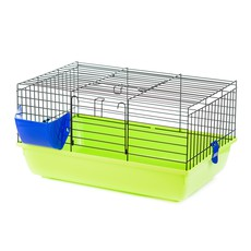 Клетка для кролика Inter Zoo KROLIK (Rabbit 60 Color) 580х380х310 (черный прут)